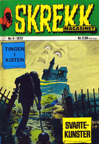Cover Thumbnail for Skrekk Magasinet (Illustrerte Klassikere / Williams Forlag, 1972 series) #4/1972