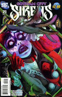 Cover Thumbnail for Gotham City Sirens (DC, 2009 series) #21