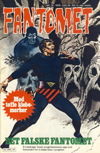 Cover Thumbnail for Fantomet (Semic, 1976 series) #18/1978
