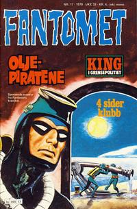 Cover Thumbnail for Fantomet (Semic, 1976 series) #17/1978