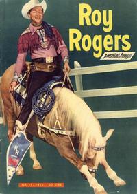 Cover Thumbnail for Roy Rogers (Serieforlaget / Se-Bladene / Stabenfeldt, 1954 series) #15/1955