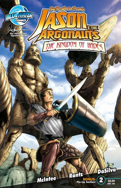 Cover for Jason and the Argonauts: Kingdom of Hades (Bluewater Productions, 2007 series) #2 [Cover A]