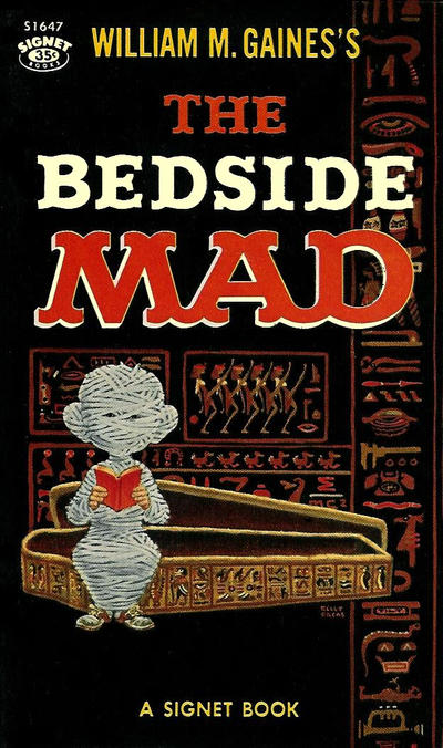 Cover for The Bedside Mad (New American Library, 1959 series) #S1647