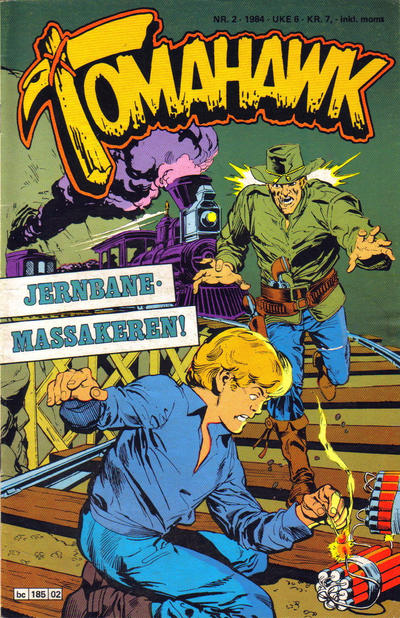 Cover for Tomahawk (Semic, 1977 series) #2/1984