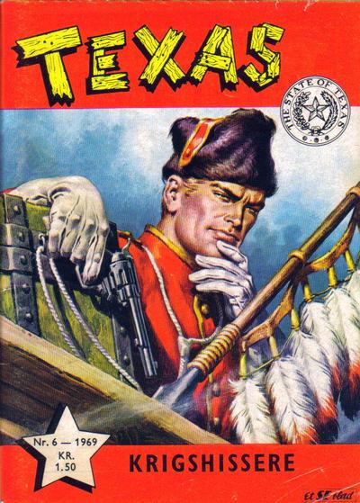 Cover for Texas (Serieforlaget / Se-Bladene / Stabenfeldt, 1953 series) #6/1969