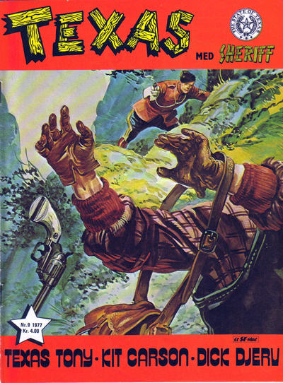 Cover for Texas med Sheriff (Serieforlaget / Se-Bladene / Stabenfeldt, 1976 series) #9/1977
