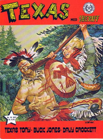 Cover for Texas med Sheriff (Serieforlaget / Se-Bladene / Stabenfeldt, 1976 series) #10/1977
