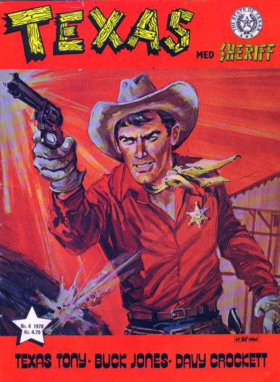 Cover for Texas med Sheriff (Serieforlaget / Se-Bladene / Stabenfeldt, 1976 series) #4/1978