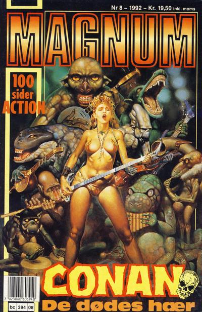Cover for Magnum (Bladkompaniet / Schibsted, 1988 series) #8/1992