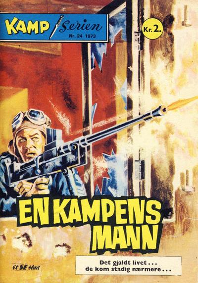 Cover for Kamp-serien (Serieforlaget / Se-Bladene / Stabenfeldt, 1964 series) #24/1973