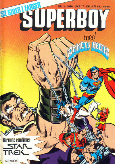 Cover for Superboy (Semic, 1977 series) #3/1980