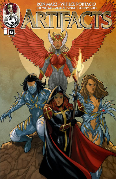 Cover for Artifacts (Image, 2010 series) #6 [Cover D]