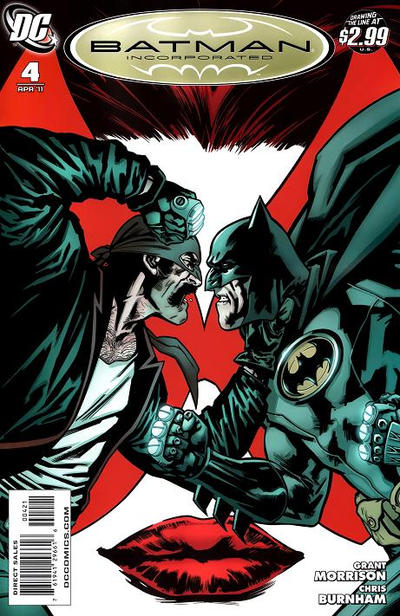 Cover for Batman, Inc. (DC, 2011 series) #4