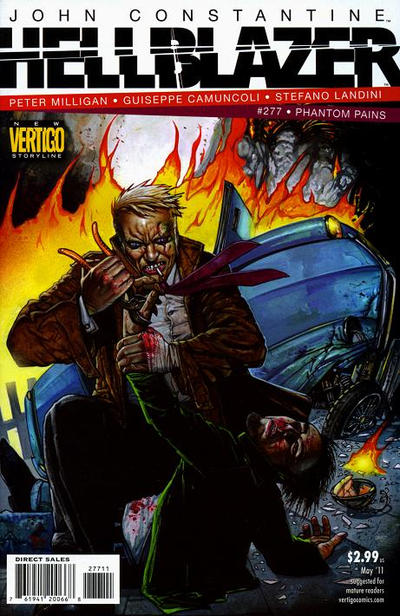 Cover for Hellblazer (DC, 1988 series) #277