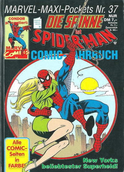 Cover for Marvel-Maxi-Pockets (Condor, 1980 series) #37