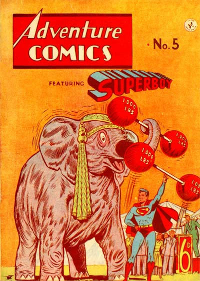 Cover for Adventure Comics Featuring Superboy (K. G. Murray, 1949 ? series) #5
