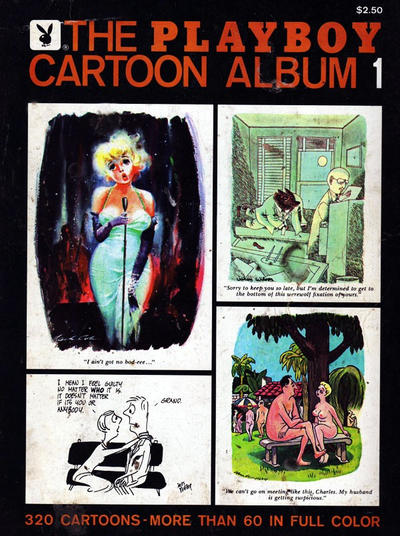 Cover for The Playboy Cartoon Album (Playboy Press, 1963 series) #1 [later printing(s)]