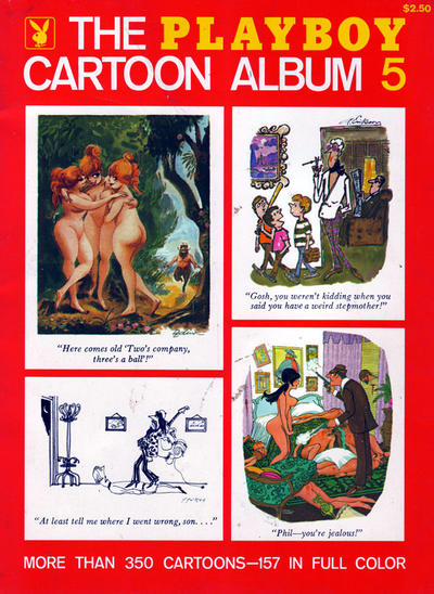 Cover for The Playboy Cartoon Album (Playboy Press, 1963 series) #5
