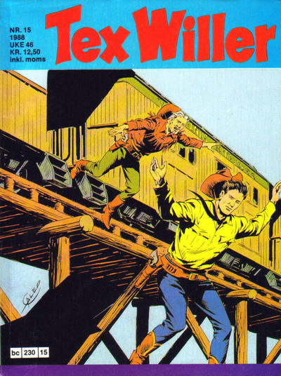 Cover for Tex Willer (Semic, 1977 series) #15/1988