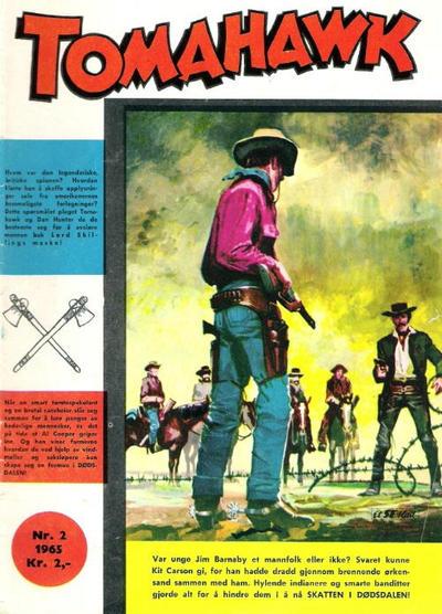 Cover for Tomahawk (Serieforlaget / Se-Bladene / Stabenfeldt, 1965 series) #2/1965