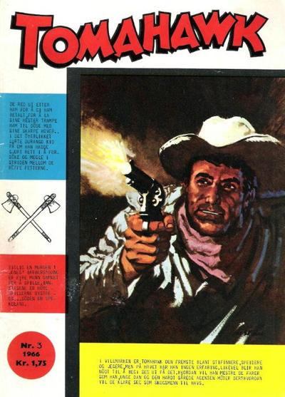 Cover for Tomahawk (Serieforlaget / Se-Bladene / Stabenfeldt, 1965 series) #3/1966