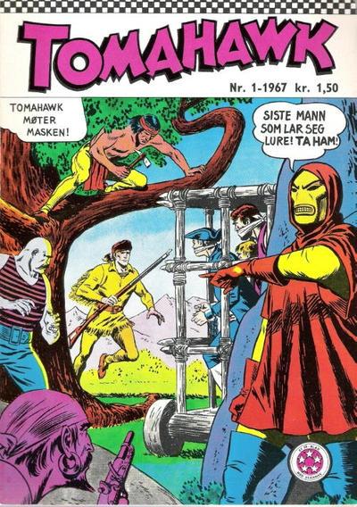 Cover for Tomahawk (Serieforlaget / Se-Bladene / Stabenfeldt, 1965 series) #1/1967