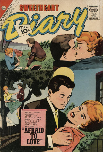 Cover for Sweetheart Diary (Charlton, 1955 series) #59