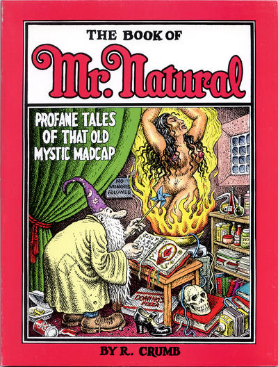 Cover for The Book of Mr. Natural (Fantagraphics, 1995 series)