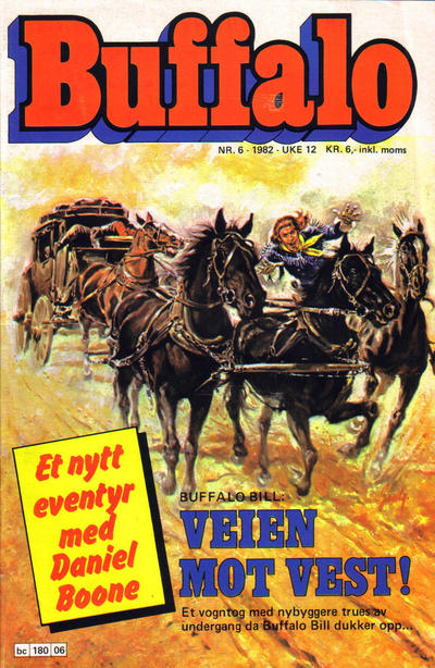 Cover for Buffalo (Semic, 1982 series) #6/1982