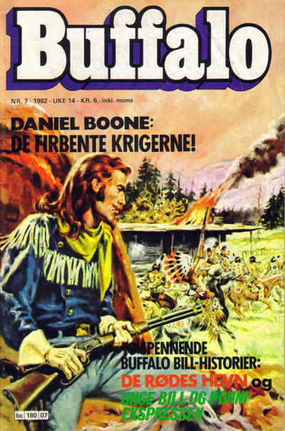 Cover for Buffalo (Semic, 1982 series) #7/1982