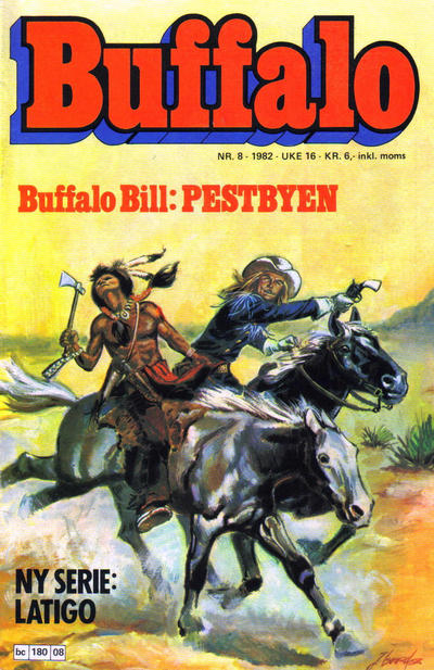 Cover for Buffalo (Semic, 1982 series) #8/1982