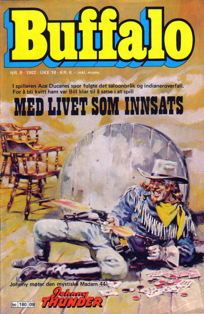 Cover for Buffalo (Semic, 1982 series) #9/1982