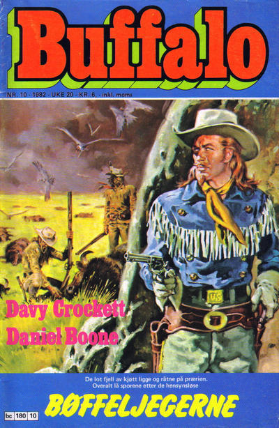 Cover for Buffalo (Semic, 1982 series) #10/1982