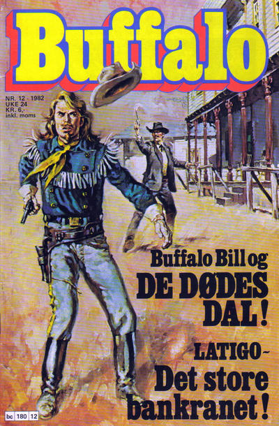 Cover for Buffalo (Semic, 1982 series) #12/1982