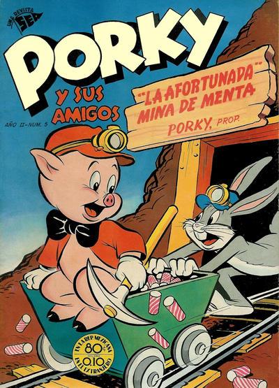 Cover for Porky y sus Amigos (Editorial Novaro, 1951 series) #5