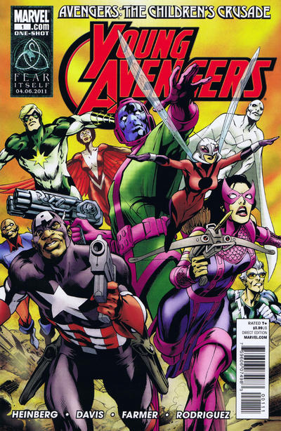 Cover for Avengers: The Children's Crusade - Young Avengers (Marvel, 2011 series) #1