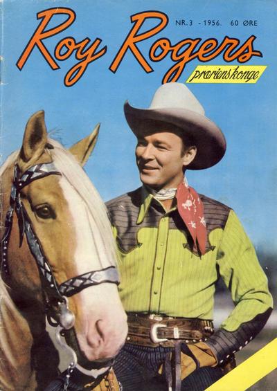 Cover for Roy Rogers (Serieforlaget / Se-Bladene / Stabenfeldt, 1954 series) #3/1956