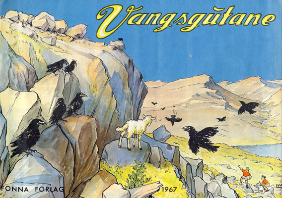 Cover for Vangsgutane (Fonna Forlag, 1941 series) #1967
