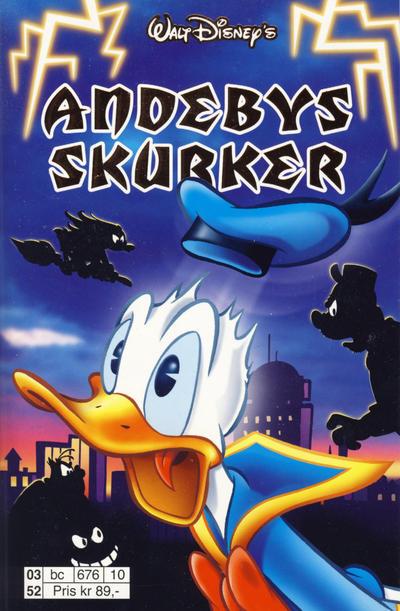 Cover for Donald Duck Tema pocket; Walt Disney's Tema pocket (Hjemmet / Egmont, 1997 series) #Andebys skurker