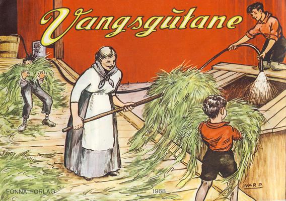 Cover for Vangsgutane (Fonna Forlag, 1941 series) #1968