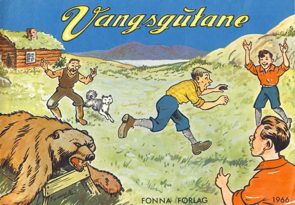 Cover for Vangsgutane (Fonna Forlag, 1941 series) #1966