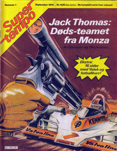 Cover for Supertempo (Hjemmet / Egmont, 1979 series) #1/1979