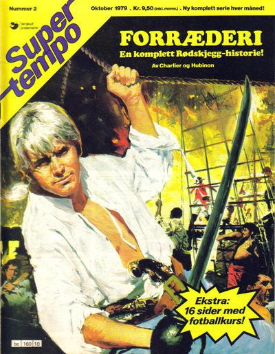 Cover for Supertempo (Hjemmet / Egmont, 1979 series) #2/1979