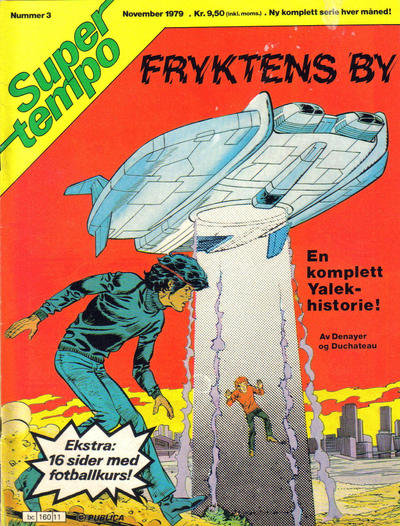 Cover for Supertempo (Hjemmet / Egmont, 1979 series) #3/1979