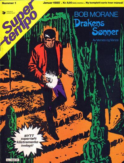 Cover for Supertempo (Hjemmet / Egmont, 1979 series) #1/1980
