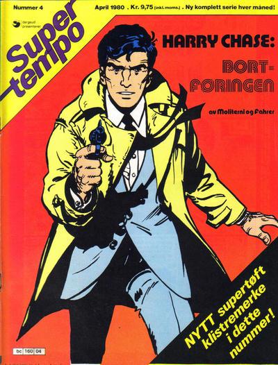 Cover for Supertempo (Hjemmet / Egmont, 1979 series) #4/1980