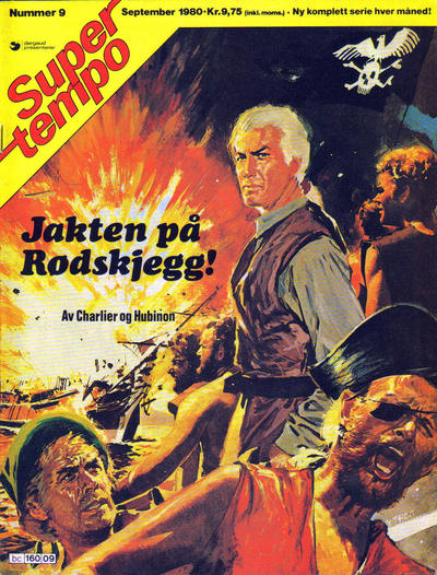 Cover for Supertempo (Hjemmet / Egmont, 1979 series) #9/1980