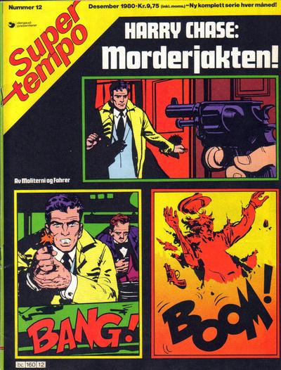 Cover for Supertempo (Hjemmet / Egmont, 1979 series) #12/1980