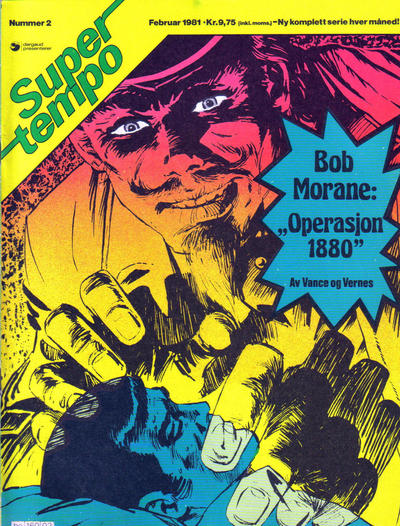 Cover for Supertempo (Hjemmet / Egmont, 1979 series) #2/1981