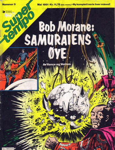 Cover for Supertempo (Hjemmet / Egmont, 1979 series) #5/1981